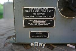 Vintage Bc-939-b Tn-339/gr Antenna Tuning Unit Crosley Avco Ham Amateur Radio