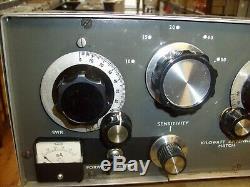 Vintage Kilowatt KW Matchbox Antenna Tuner Matcher Match Box Ham Radio