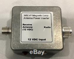 W6LVP Amplified Receive-Only Magnetic Loop Antenna Portable Version