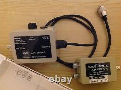 Wellbrook ALA-100 50 kHz-30Mhz Active Magnetic Loop Antenna