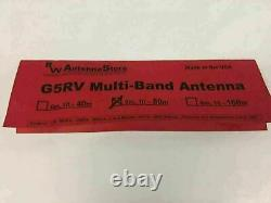 Worlds Best Built G5RV Premium 6-80Meters Multi-Band Ham Radio Wire Antenna