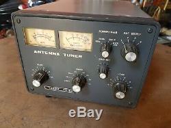 Yaesu FC 901 HF ham Radio Antenna Tuner WORKING