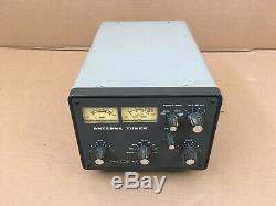 Yaesu FT-101ZD Ham Radio Transceiver with Yaesu Antenna Tuner Works Great