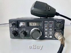 Yaesu FT-290R Transceiver 2m Ham Radio All Mode Amateur YM-47 Mic Antenna FT290R