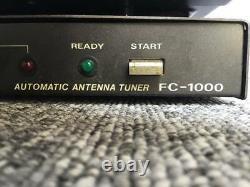 Yaesu FT-757SXII HF All Mode Transceiver Antenna Tuner FC-1000 Amateur Ham Radio