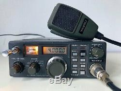 Yaesu Radio Transceiver FT-290R 2m All Mode Ham FT290R w YM-47 Mic & Antenna