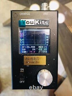 YouKits FG-01 antenna analyzer, SWR meter for ham radio, HF, amateur radio, QRP