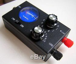 Youkits MT1 QRP manual tuner with SWR and PWR meter, kit version